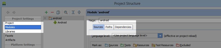 Android-студия Импорт PhoneGap Добавить папку WWW